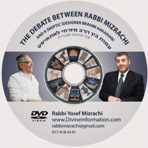 The Debate Between Rabbi Mizrachi with a Skeptic (Designer Barhami Hakakian)