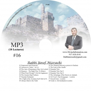 CD#16 - 18 Lectures (MP3)