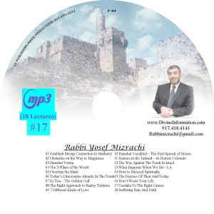 CD#17 - 18 Lectures (MP3)