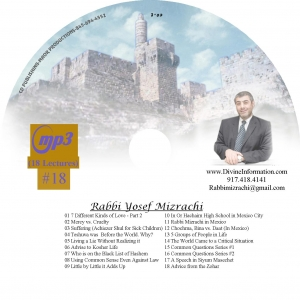 CD#37 - 18 Lectures (MP3)